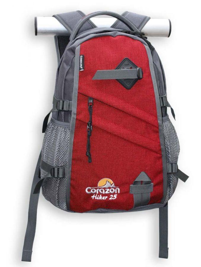 Batoh Corazon Hiker 25 Červeno šedý