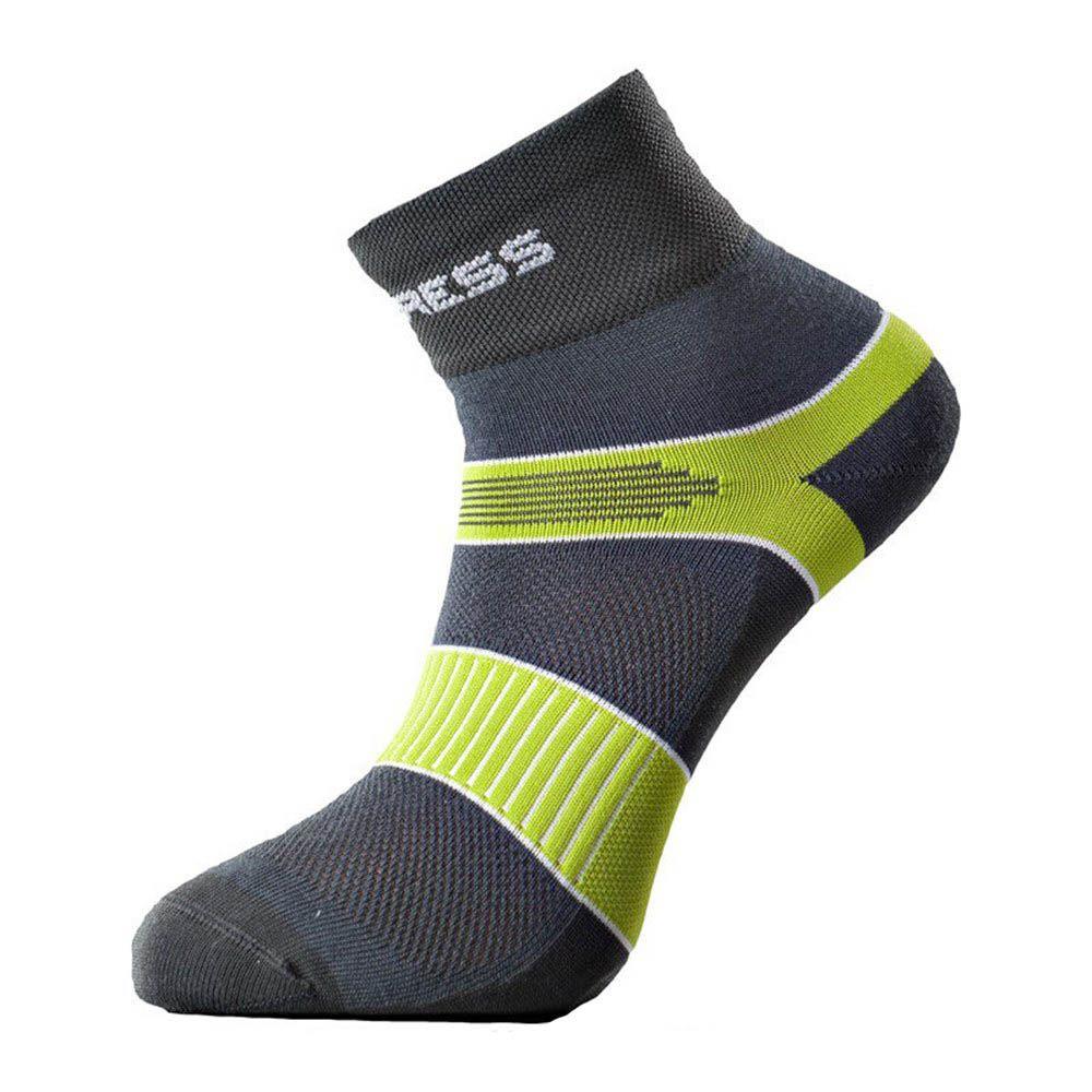Progress Cycling cyklistické ponožky šedá/zelená