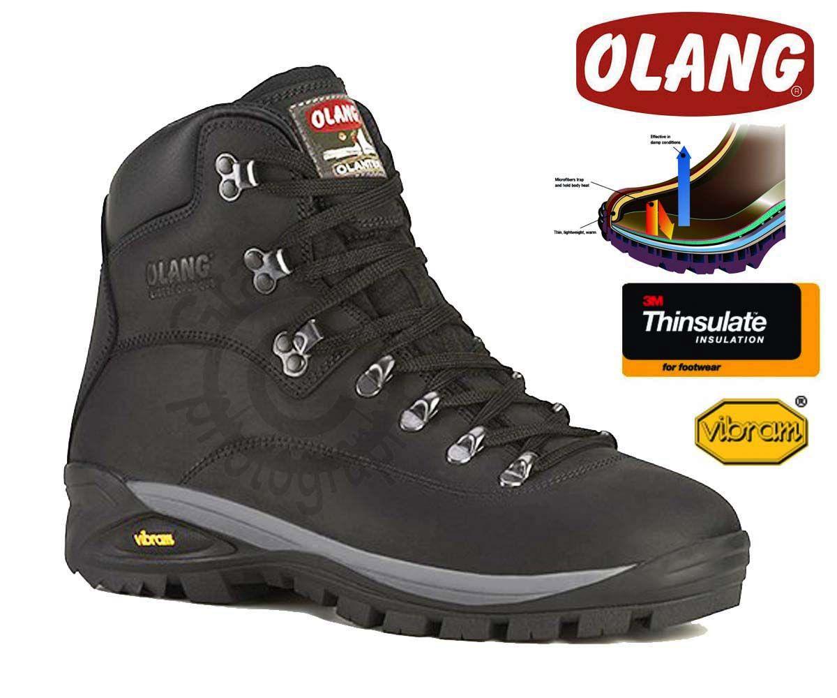 Olang Alabama Thinsulate Nero zimní zateplená obuv