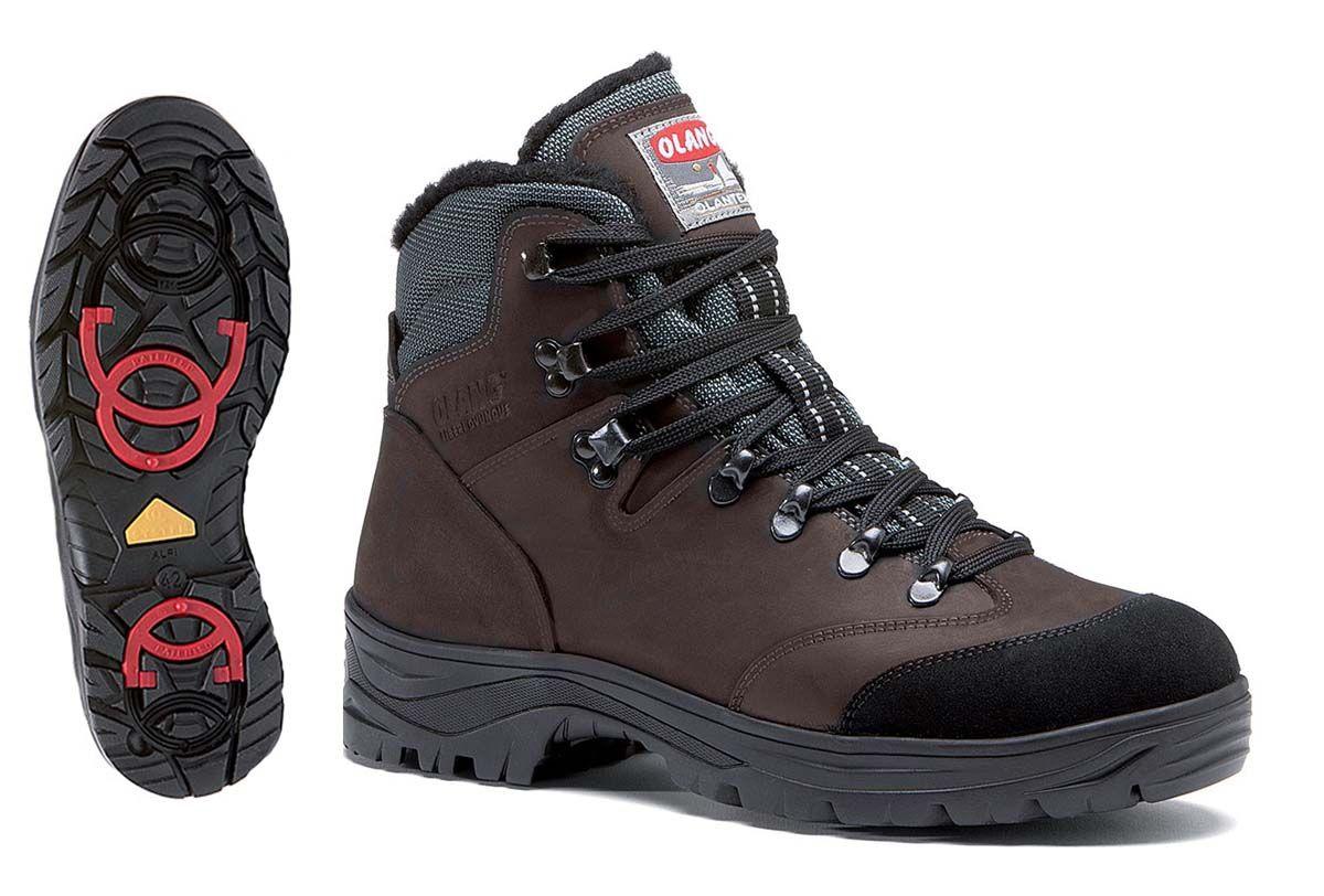 Olang Brennero OC Wintherm Caffe zimní treková zateplená obuv